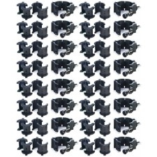 """(16) Chauvet CLP10 CLP-10 360°  Wrap Around """"O"""" Clamps For Light Mounting"""