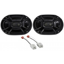 2006-2009 Dodge Ram 2500/3500 6x9 Polk Audio Front Speaker Replacement Kit