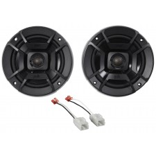 "2006-2009 Dodge Ram 2500/3500 5.25"""" Polk Audio Rear Speaker Replacement Kit"