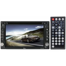 "Tview D62TSB 6.2"" Double-Din DVD Player Car Receiver w/ Bluetooth + HD Screen"