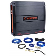 Cadence FXA1000.2 1000 Watt 2-Channel Car Audio Amplifier + Amp Kit