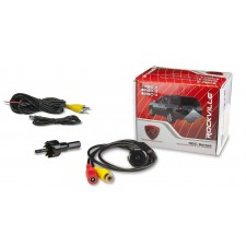 Rockville RBC2 Night Vision Car Backup Camera w Distance Lines, Flush Mount