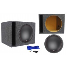 "MTX 7515-22 15"" 750 Watt RMS Competition Subwoofer + Vented Sub Box Enclosure"