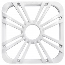 """Kicker 11L710GLW 10"""" White Grille w/LED For SoloBaric 11S10L7 Subwoofer Sub"""