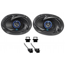 1994-1996 Chevrolet Chevy Impala SS Autotek Rear Factory Speaker Replacement Kit