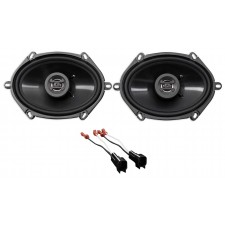 2003-2011 Lincoln Town Car Front Hifonics Factory Speaker Replacement Kit