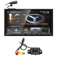 "Kenwood DNX875S 6.95"" Navigation DVD Bluetooth Receiver iphone/Android+Camera"