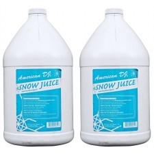 (2) American DJ Snow Gal Gallon of Snow Fluid for Snow Flurry Machine