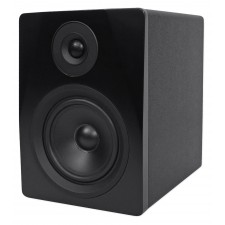 "Pair Rockville APM5B 5.25"" 2-Way 250W Powered USB Studio Monitors+Stands+Pads"