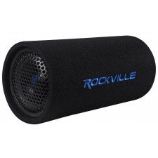 "Rockville RTB65A 6.5"" 300w Powered Subwoofer Bass Tube + MP3 Input"