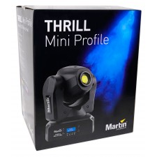 (2) Martin Thrill Mini Profile Compact LED Moving Head Beam Spot DMX Wash Lights