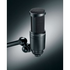 Audio Technica AT2020 Studio Recording Microphone-Cardioid Condenser Mic