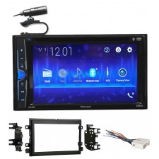 0507 Ford F-250/350/450/550 Pioneer DVD/CD Bluetooth Receiver iPhone/Android/USB