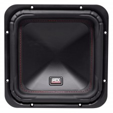 "MTX S6510-44 10"" 1000w Peak/500w RMS Square Subwoofer Car Audio Sub DVC 4-ohm"