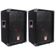 "(2) Rockville RSG8 8"" 300 Watt 2-Way 8-Ohm Passive DJ/Pro PA Speaker"