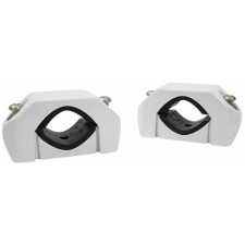"""Rockford Fosgate PM-CL1 White Wakeboard Tower Speaker Clamps Fits 1.5"""" -2.875"""""""