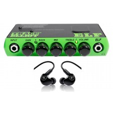 Trace Elliot ELF 200w Ultra Compact Bass Amplifier Amp+Mackie In-Ear Monitors