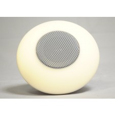 Portable Bluetooth Speaker with Multi Color LED Touch Light, Aux, SD Inputs