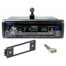 Kenwood 1-Din CD Radio Receiver w/Bluetooth iPhone/ For 1995-99 Hyundai Accent