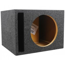 "Rockville RSV10 Single 10"" 1.0 cu.ft. 3/4"" MDF Vented Subwoofer Enclosure Box"