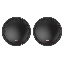 "(2) MTX 3510-04 10"" 1000 Watt Peak SVC 4-ohm Car Audio Subwoofers Subs"
