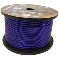 CADENCE 8 GAUGE BLUE AMP POWER/GROUND WIRE 3 FOOT
