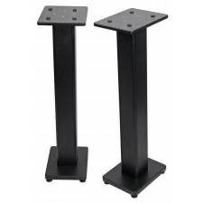 """2) Denon DN-508S 8"""" 440w RMS Powered 3-Way Tri-Amped Studio Monitors+Stands+Pads"""