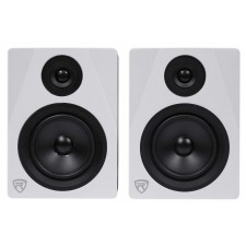"""Pair Rockville APM5W 5.25"""" Gaming Twitch Streaming Computer Speakers Monitors"""