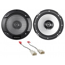 "Kenwood 6.5"" Front Factory Speaker Replacement Kit For 2003-08 Toyota Corolla"
