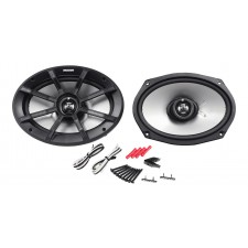 "Pair  Kicker 40PS694 6x9"" 180W Peak/90W RMS 4 Ohm ATV/Motorcycle Speakers PS69"