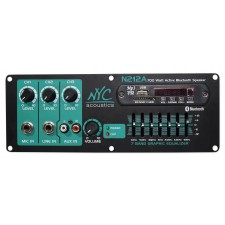 Pro/Home Audio Preamp Panel w/Bluetooth/SD/USB, Mic In/Line In, Aux In/7 Band EQ