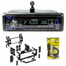 Kenwood 1-Din CD Receiver w/Bluetooth iPhone/Android/ For 1993-97 Mazda MX-6