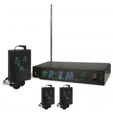 Nady EO3 BB 300' Foot Wireless Monitor System + (3) EO3 RX BB Receivers