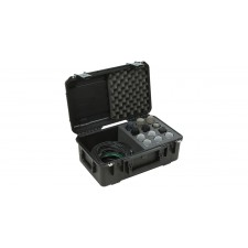 SKB 3i-2011-MC12 Injection Molded Hard Case w/Foam for (12) Microphones+Storage