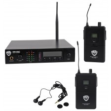 Nady PEM-1000R Bodypack Receiver+PEM-1000 Band 2 Wireless In-Ear Monitor System