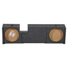 "2000-2003 Ford F150 Xcab UnderSeat Downfire Dual 12"" Subwoofer Sub Box Enclosure"