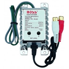 Boss Audio B65N High/Low Level Converter with RCA Input Sensitivity Control