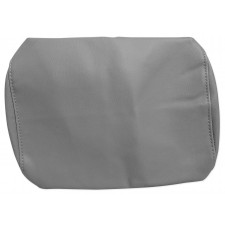 """Pair Grey 9"""" Anti-Theft Faux Leather Headrest Monitor Cover"""