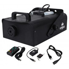 American DJ VF1600 1500 Watt Mobile DMX Fog Machine W/ Wired & Wireless Remotes