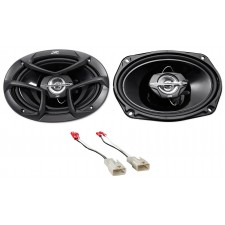 "JVC 6.5"" Rear Factory Speaker Replacement Kit For 2003-2008 Toyota Corolla"