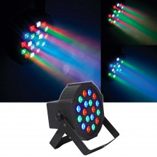 FARENHEIT FHB-118 LED RGB DMX Compact PAR Can Wash Light Effect Fixture