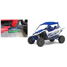 """Registration Green Sticker Mounting Plate+1.75"""" Clamps for Yamaha YXZ"""
