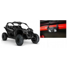 """300 Lumens LED Dome Light+2"""" Cage Clamps+Billet Mount for Can-Am Maverick+4-Seat"""