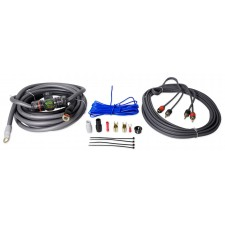 Metra V8-RAK4 4 AWG Gauge 100% Copper Car/Marine Amp Installation Wire Kit OFC