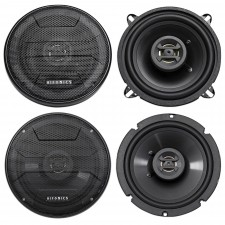 "2002-2005 Hyundai Accent 5.25"" + 6.5"" Hifonics Front + Rear Speaker Replacement"