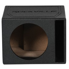 "Rockville RSV10B Single 10"" 1.0 cu.ft. Bedlined Vented Subwoofer Enclosure Box"