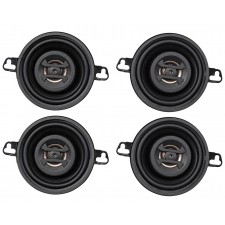 "(4) Hifonics ZS35CX 3.5"" 500 Watt Coaxial Car Speakers"