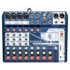 Soundcraft Notepad-12FX 12-Channel Analog Mixer w/ USB I/O and Lexicon Effects