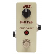BBE Mini Boosta Grande 20db Transparent Boost Stomp Pedal