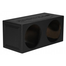 """(2) MTX 9515-22 15"""" 3000w RMS Car Subwoofers+Sealed Bedlined Sub Box Enclosure"""